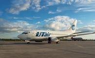 Utair Boeing 737 taxiing in St Petersburg, Russia