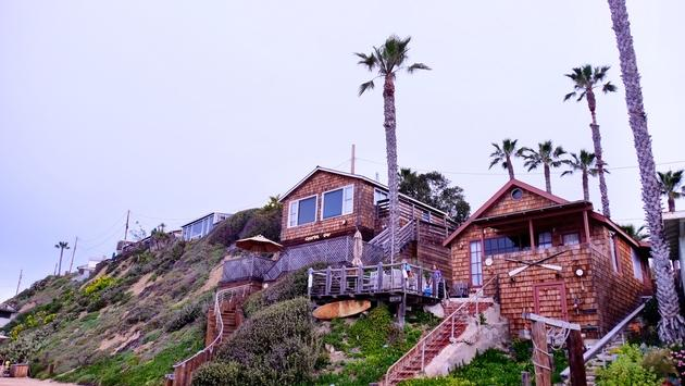 Crystal Cove State Park Cabins, California
