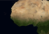 Africa from Earth orbit