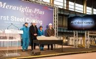MSC Cruises celebrates the initial steel-cutting of the MSC Grandiosa