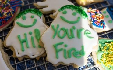 You're Fired cookies