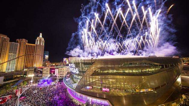 T-Mobile Arena grand opening in Las Vegas