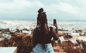 Barcelona, black traveler, Spain
