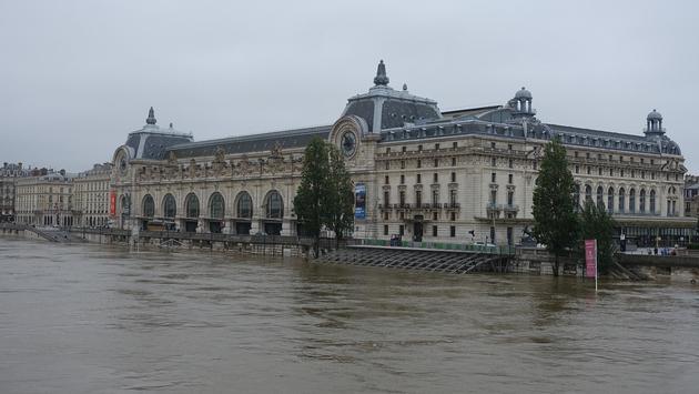 River Seine flooding Paris