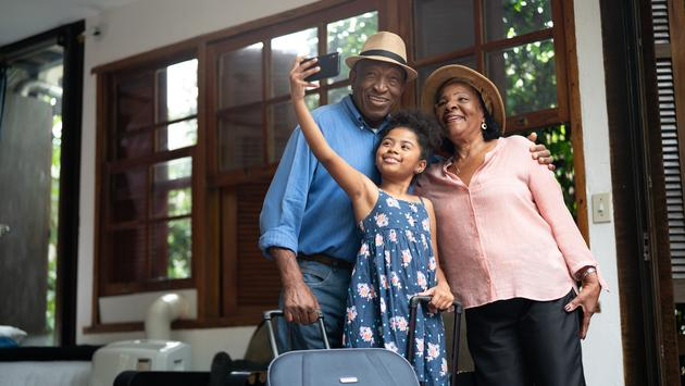 grandparents, family vacation, trip