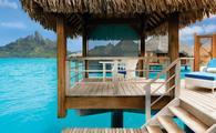 Ahorre hasta un 20% con el descuento del hotel St. Regis Bora Bora! (Cortesía de Travel Impressions)