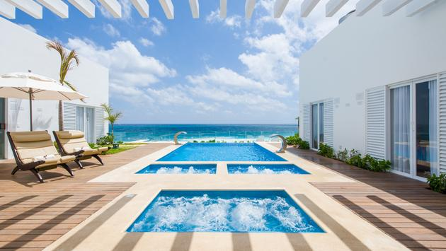 Oleo Hotel Cancun Playa Spa Pool