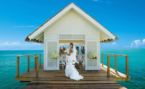 Sandals Overwater Wedding Chapel