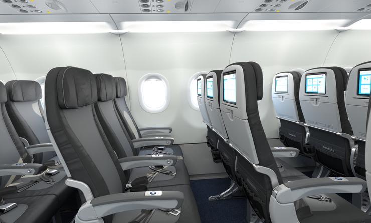 JetBlue Core seating
