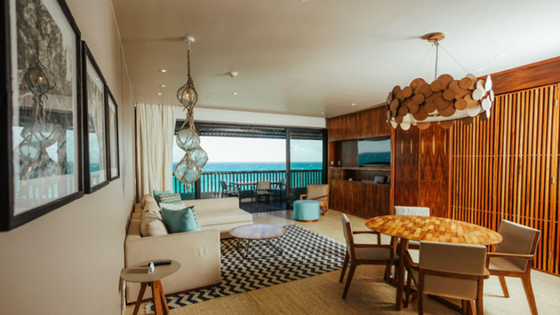 Executive Suite at Grand Hyatt Playa del Carmen, Mexico.