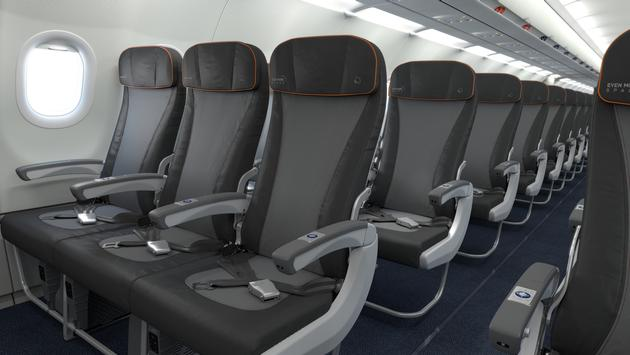 JetBlue Core seating
