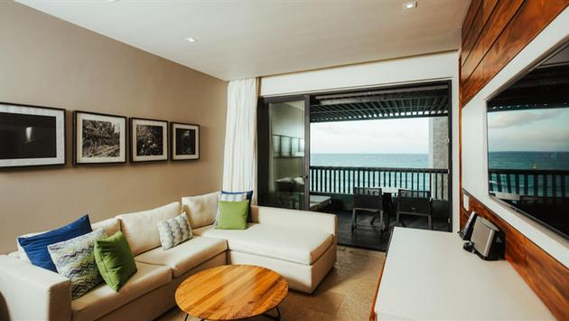 Grand Suite at Grand Hyatt Playa del Carmen, Mexico.