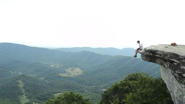 McAfee's Knob, Virginia, Hiking trail,