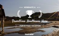 TourRadar and G Adventures launch Frontline Healthcare Hero free vacation giveaway.