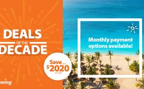 Sunwing Deals of the Decade Sale