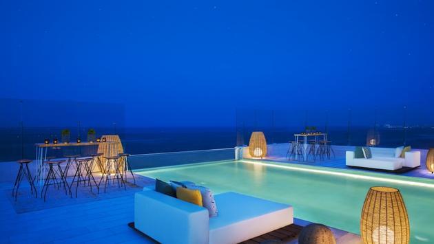 Rooftop view at Dreams Vista Cancun Golf & Spa Resort
