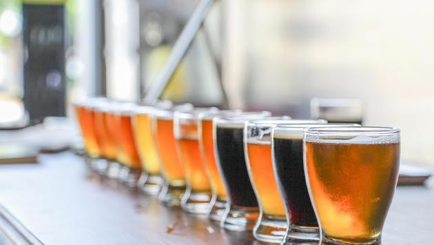 Craft Beer Tasting Flight