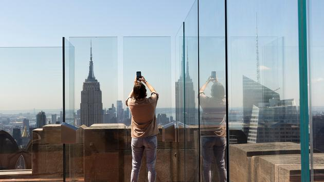 The Top of the Rock observation deck