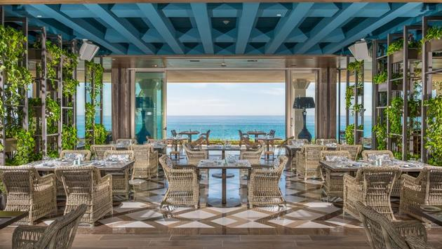 Un des restaurants du Grand Velas Los Cabos