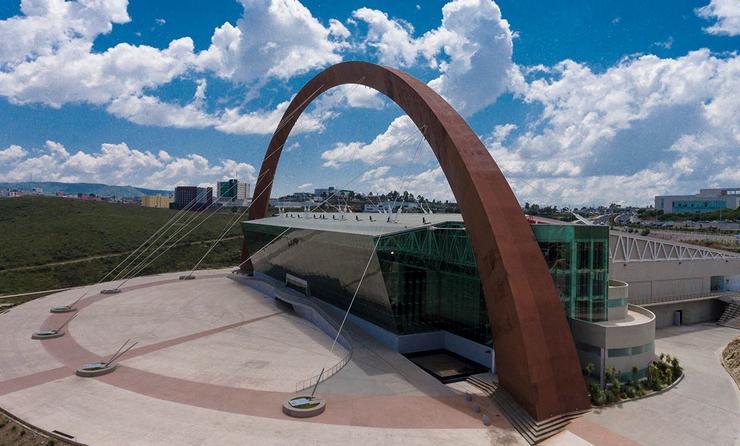 El Palacio de Convenciones de Zacatecas.