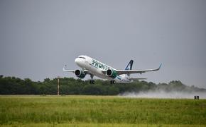 Frontier Airlines plane.