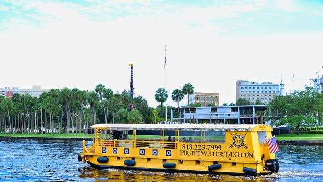 Hillsborough River, Tampa Bay, Pirate Water Taxi, boat, river