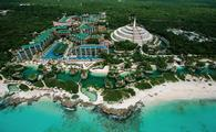 Hotel Xcaret Mexico, Aerial shot
