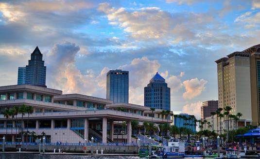 Tampa Bay, skyline, river, buildings