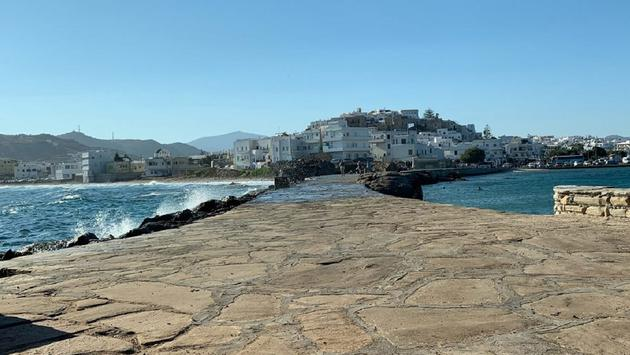The island of Patmos in Greece
