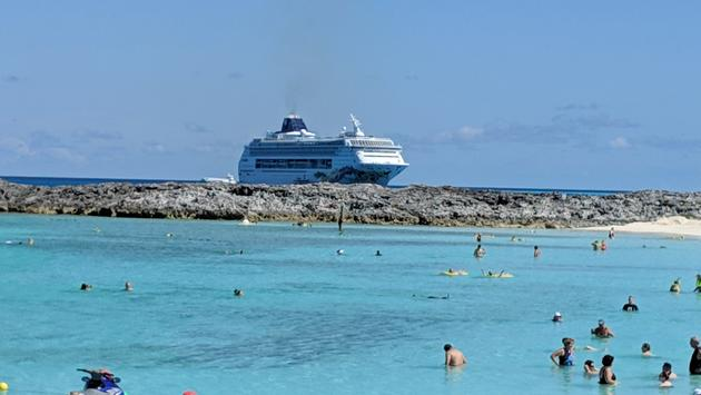 Norwegian Joy Cruise Ship in Bahamas