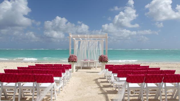 Cérémonie de mariage sur la plage TRS Turquesa Hotel