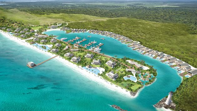 Unscripted Belize rendering, Dream Hotel Group