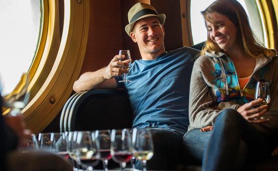Wine Tasting onboard the Disney Magic