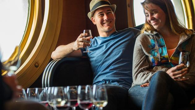 Wine Tasting onboard the Disney Magic