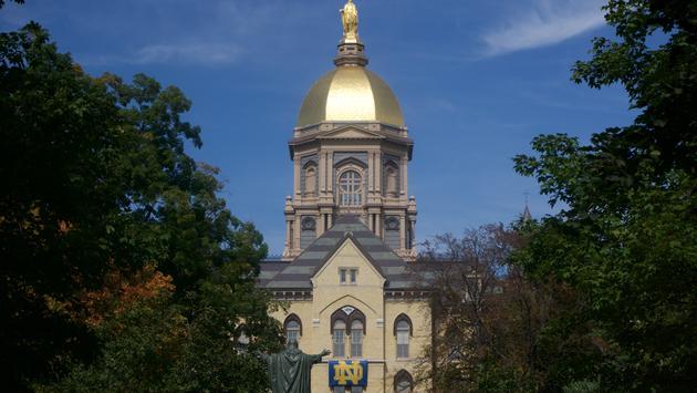 University of Notre Dame's Main Building
