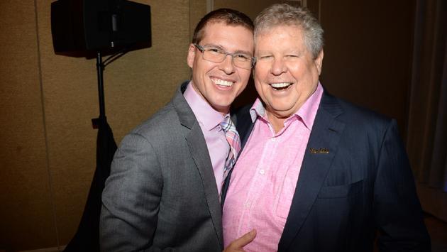 "Adam Stewart (son and Deputy Chairman) and Gordon ""Butch"" Stewart"