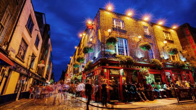 Temple Bar, Dublin, Ireland, City, Europe