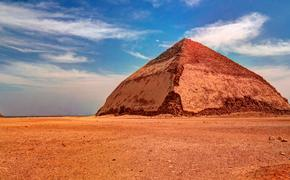Bent Pyramid of Sneferu in Dahsur, Egypt