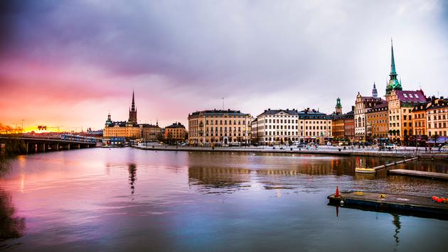 Stockholm, Sweden, Europe, Sea
