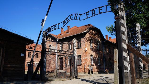 Auschwitz-Birkenau Memorial and Museum in Oswiecim, Poland