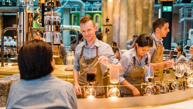 Inside the Starbucks Reserve Roastery Milan