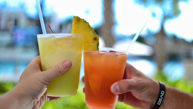 Drinks at Orlando World Center Marriott