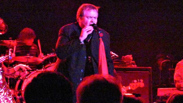 Singer Meat Loaf performs