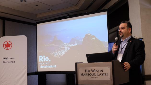 Rio de Janeiro Air Canada Event