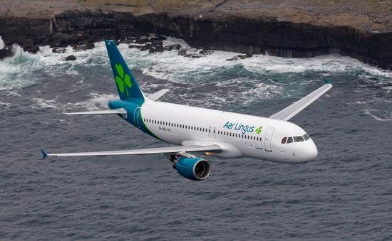 Aer Lingus plane.