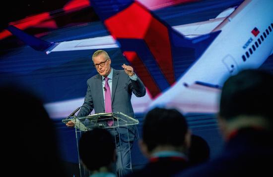 Delta Air Lines CEO Ed Bastian at Investor Day 2017
