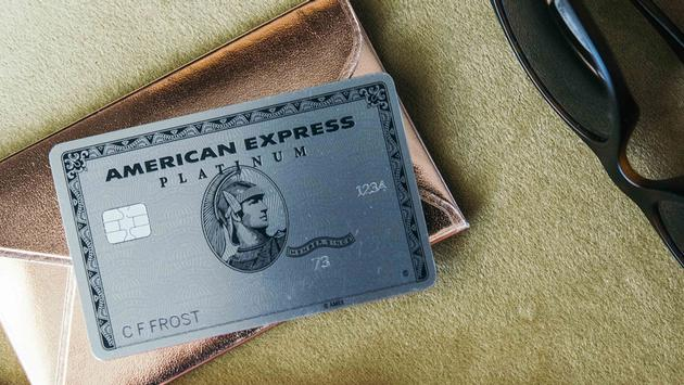 PHOTO: American Express Platinum card (photo via American Express)