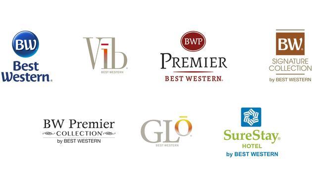 Best Western Hotels & Resorts brands