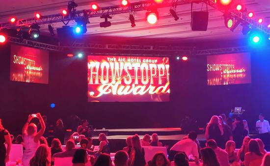 2019 AIC Hotel Group Showstopper Awards