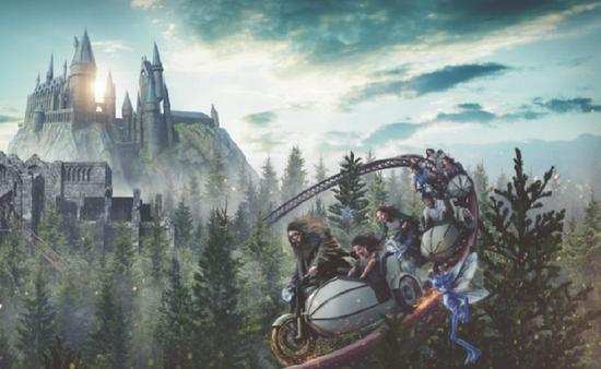 Hagrid's Magical Creatures Motorbike Adventure, Wizarding World of Harry Potter, Universal Orlando Resort